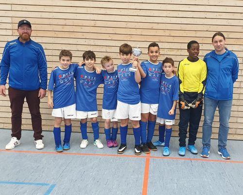 E-Junioren gewinnen Hallenturnier in Denkendorf