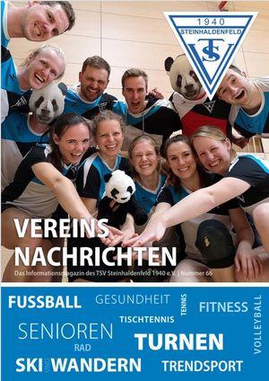 TSV Vereinsnachrichten 2019 - Nummer 66