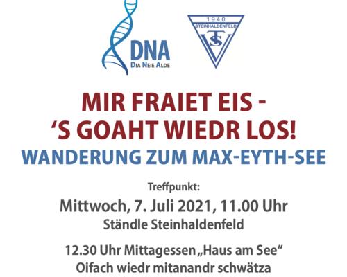 DNA   Es geht wieder los!