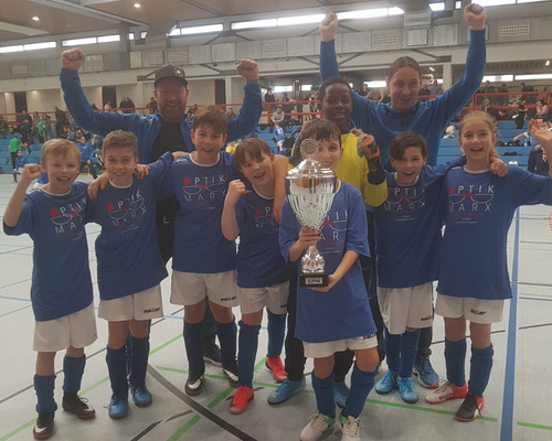 Weiterer Turniererfolg für E-Junioren des TSV Steinhaldenfeld