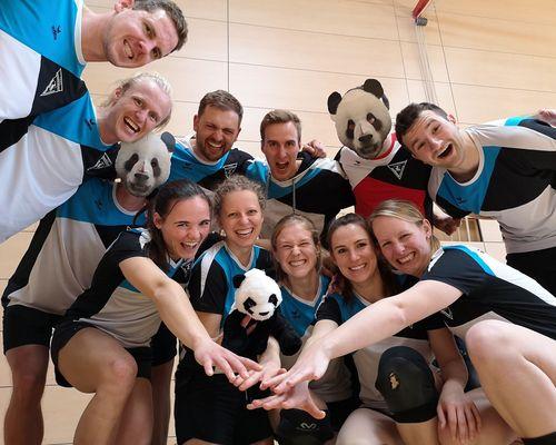 Saison-Start - Pandas legen los